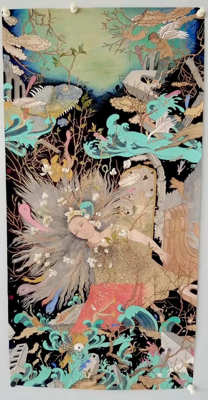 东野升珍 谈青年画家崔雪涛的画
