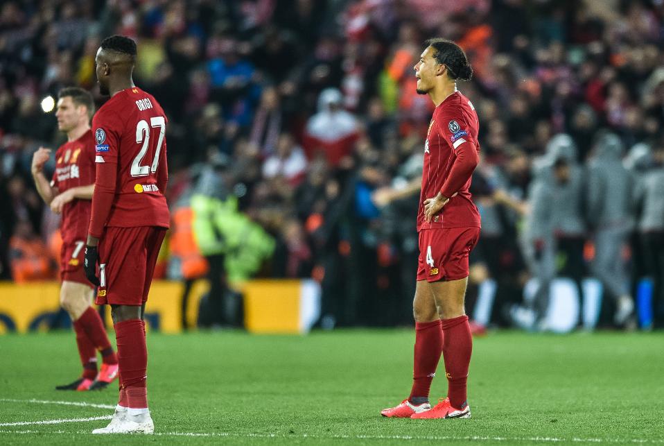 英超没落!利物浦热刺惨被双杀 欧冠淘汰赛6战5负