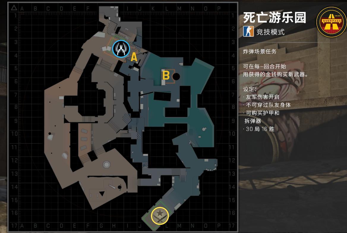 CSGO:热门地图CT阵营指南,这些常规点位,是兵家必争之地_防守