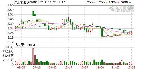 广汇能源:控股股东补充质押3500万股股票,占公司总股本0.52%