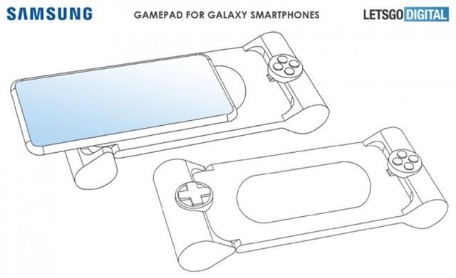 三星游戏手柄专利:在手机上玩手游的新体验