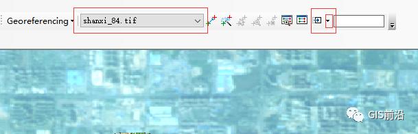ArcGIS中影像纠偏配准和转坐标系