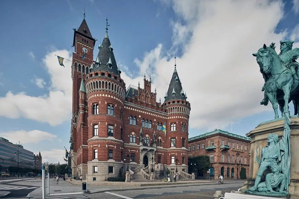 瑞典古城赫尔辛堡