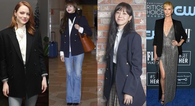 春季时尚必备单品:小黑西装怎么穿?我们整合了明星达人西装穿法