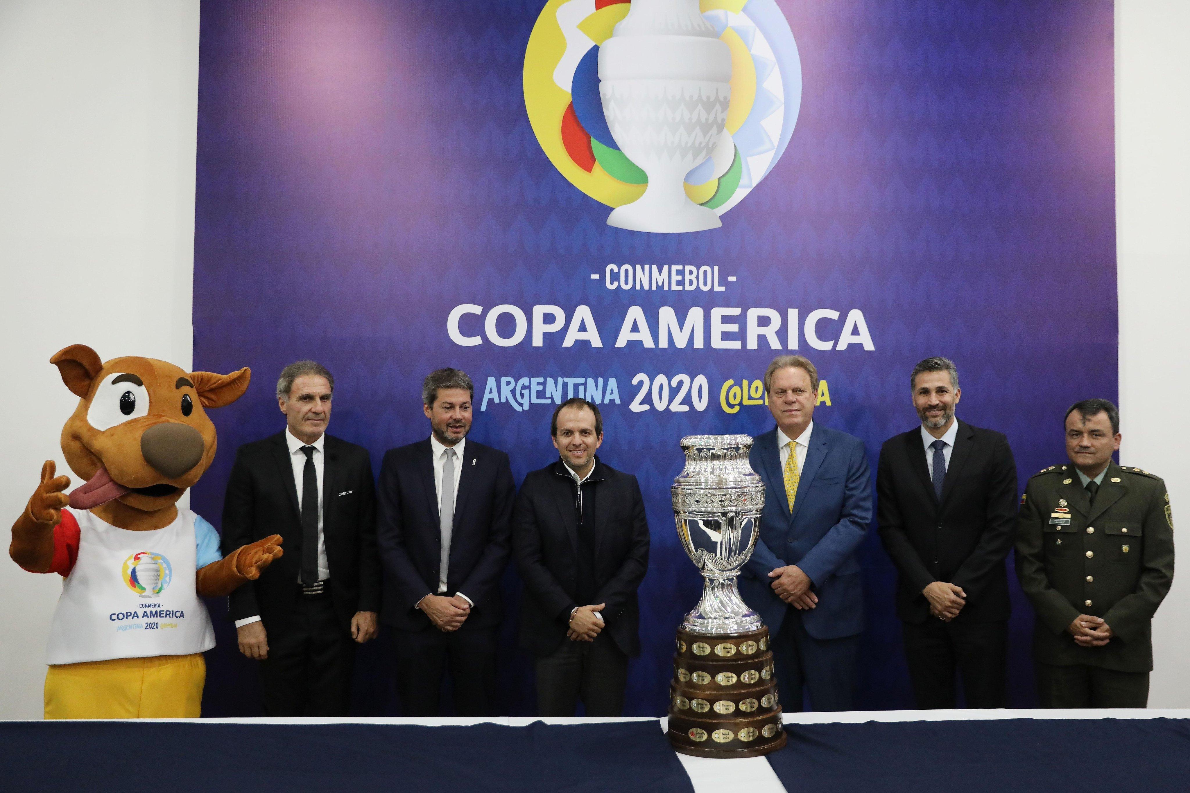 哥伦比亚高官:美洲杯或同样延期 以欧洲杯为准