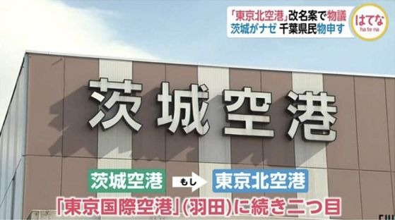 """""""茨城机场""""欲改名""""东京北机场""""引热议,樱花妹纷纷投反对票!"""