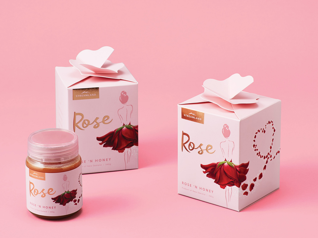 蜂蜜包装设计的外观将影响产品的销售_食品包装设计