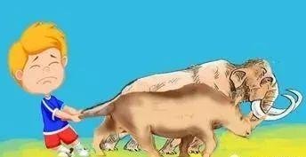 人 大象猜成语是什么成语_看图猜成语一个人和一个大象是什么成语答案
