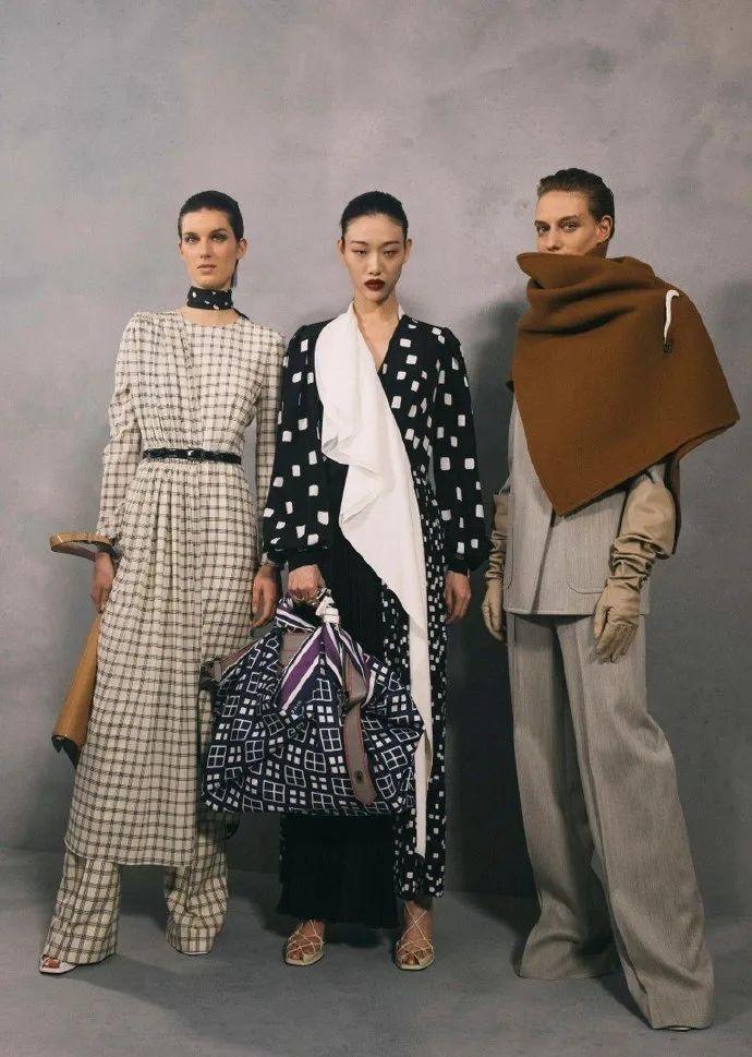 潮时尚|Givenchy2020秋冬系列展现法式电影的优雅感