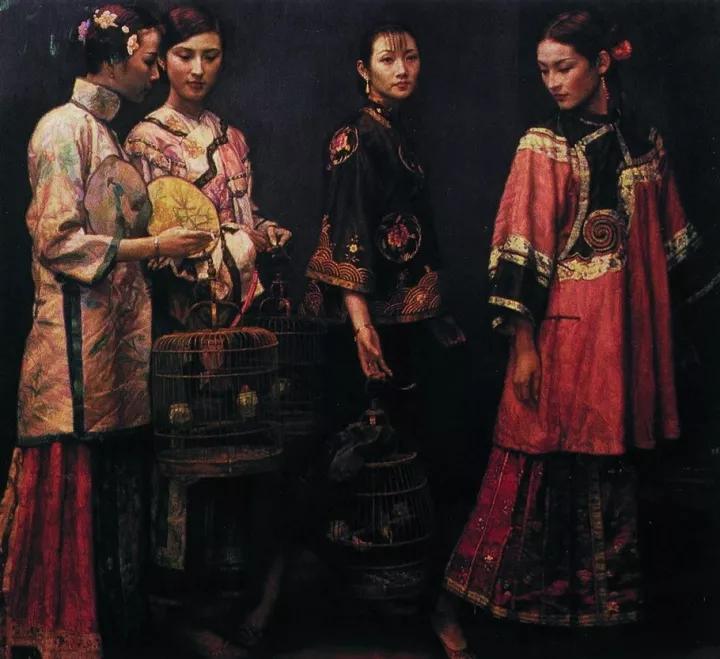 陈逸飞:艺术家里最成功的商人