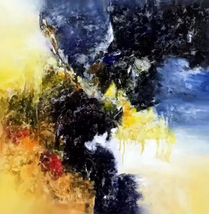 意象造型,艺术家罗若娜的绘画作品