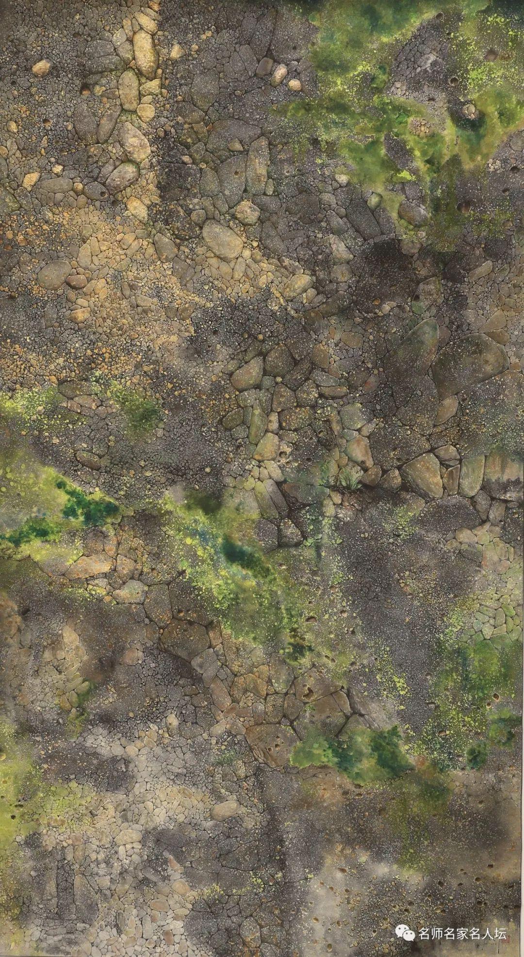 著名评论家胡金全评香港画家鍾建新画《天长地久》之二:价值是观者的体验之和