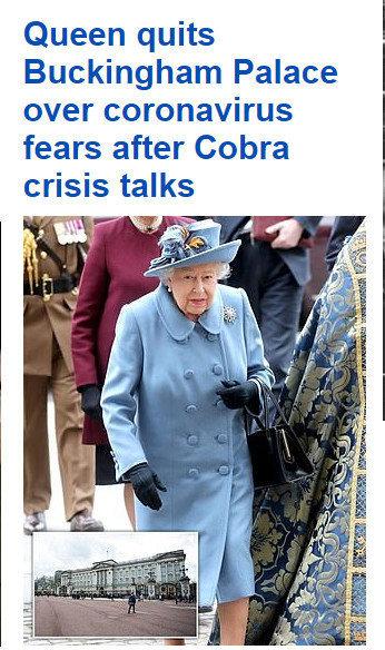 英女王撤离白金汉宫 搬至温莎城堡居住