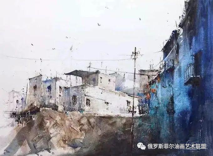 色光俱佳~意大利艺术家格雷米亚的水彩画作品赏析