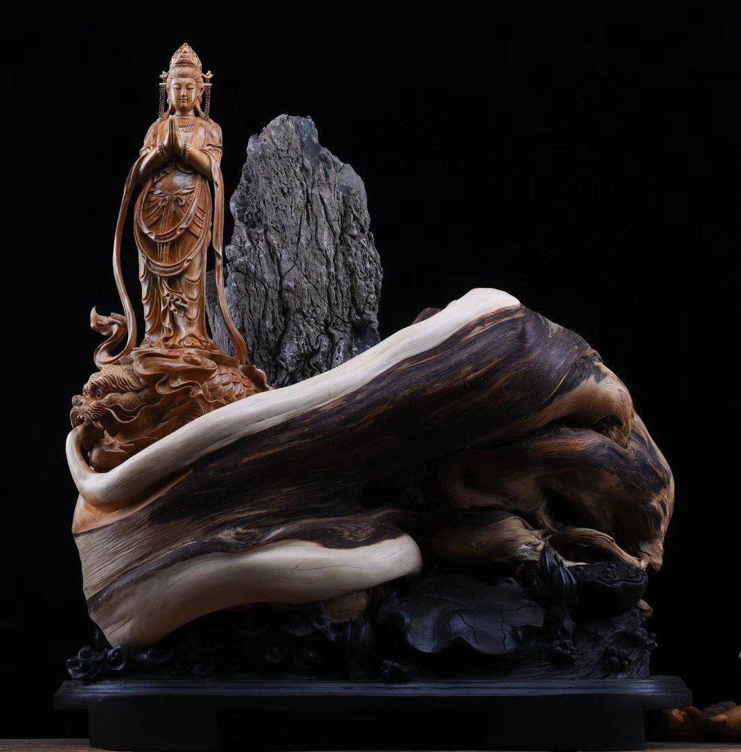 天人合一的根雕艺术