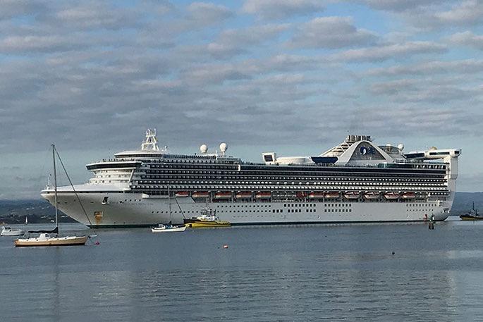 又一公主号中招:1人疑似,3700人禁下船,滞留新西兰港口