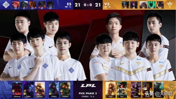 LOL-LPL:Cryin沙皇漂移开团锁定胜局,eStar2:0横扫V5_雷克赛