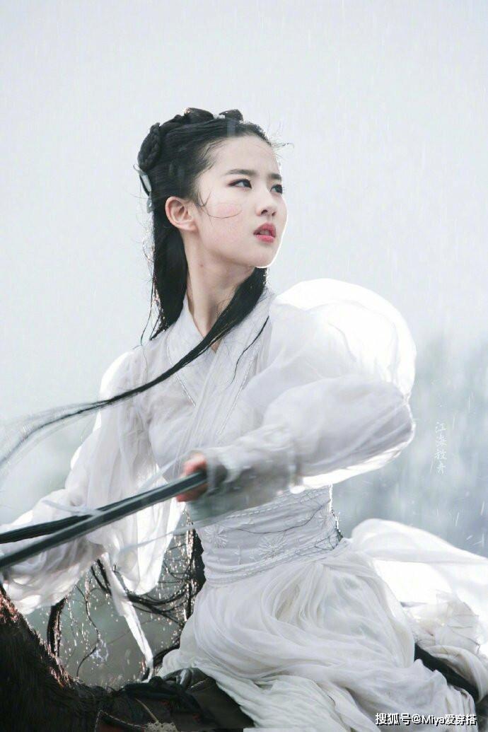 刘亦菲古装美照