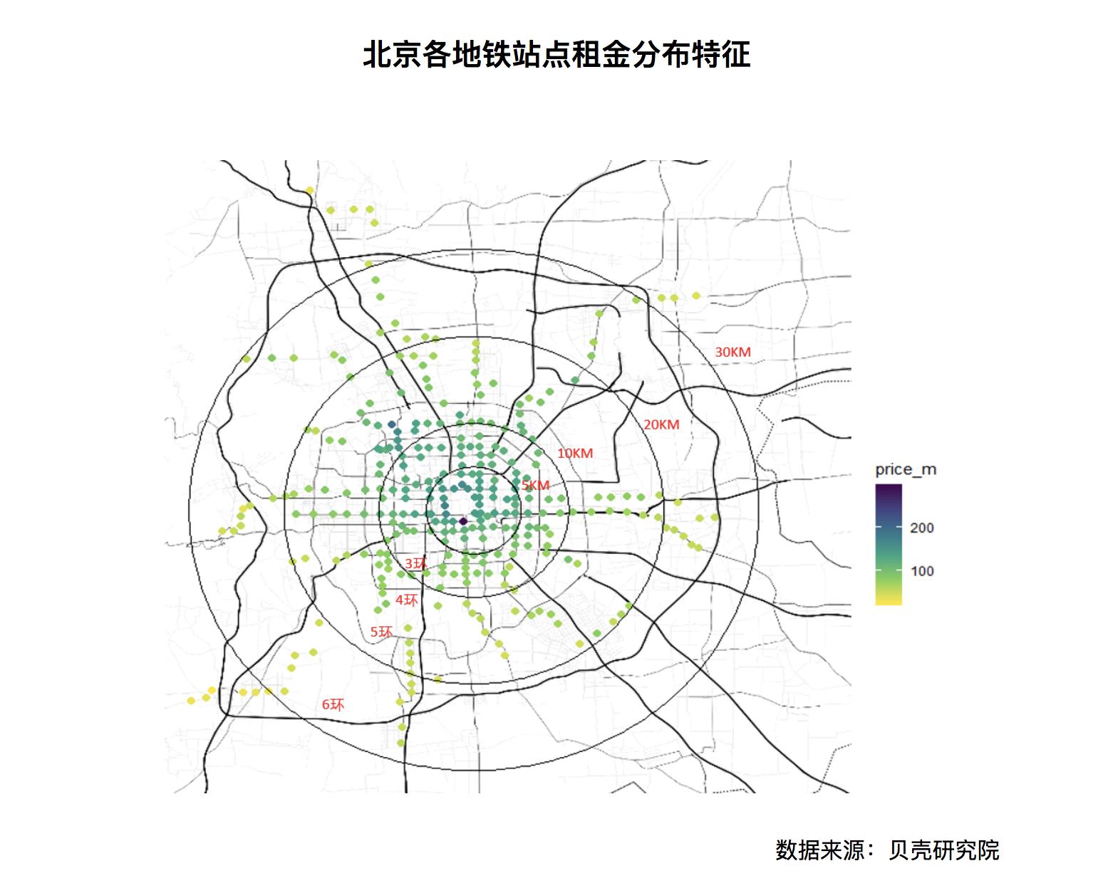 北京租房自由门槛多高?看这份租房大数据解密
