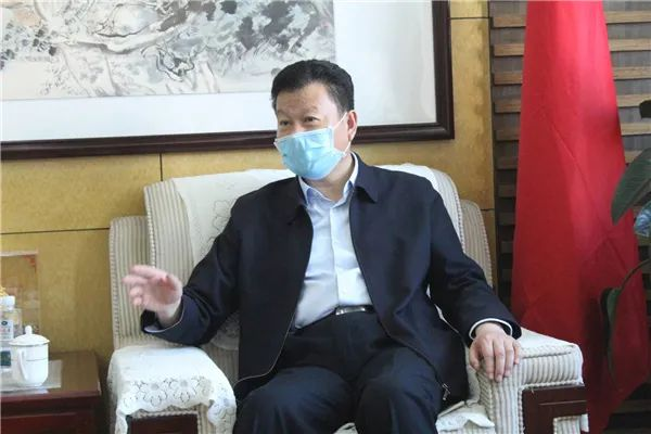 【时政新闻】区委书记王勤光会见世茂集团客商