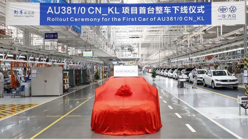 新的奥迪A3轿车长轴距版本预计将于年内推出
