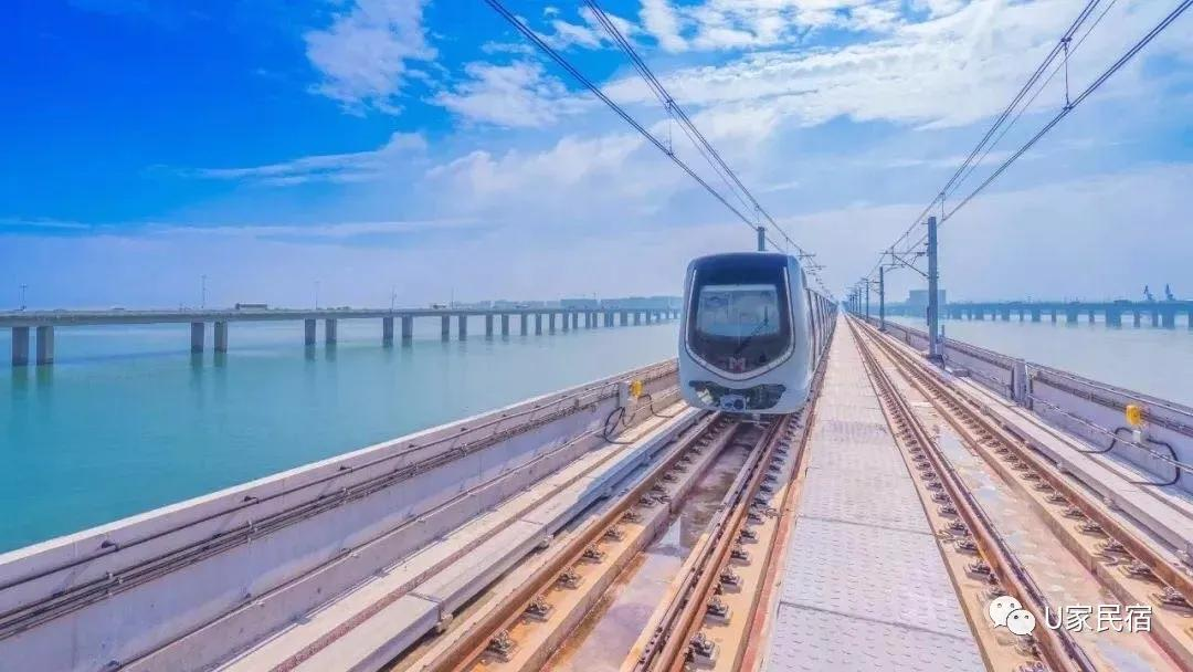 有时间的话,搭乘厦门最美海景地铁,拍清新文艺大片过小资生活
