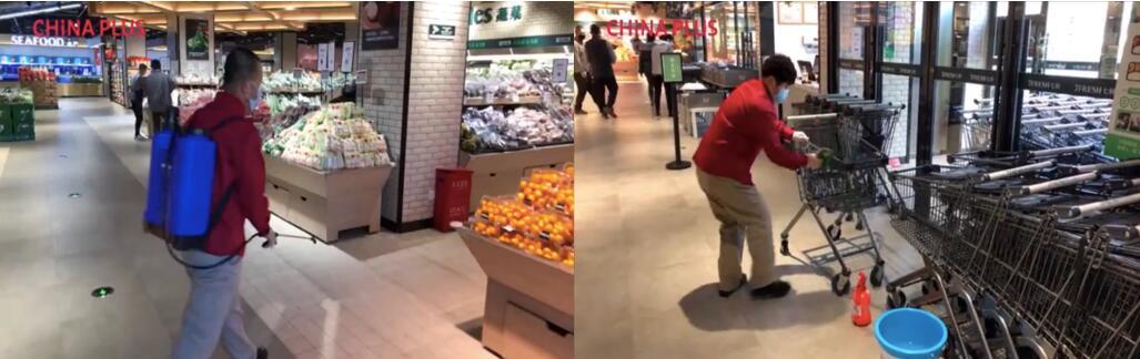 China Plus America走入七鲜超市:近距离看中国超市如何守护疫情下的民生