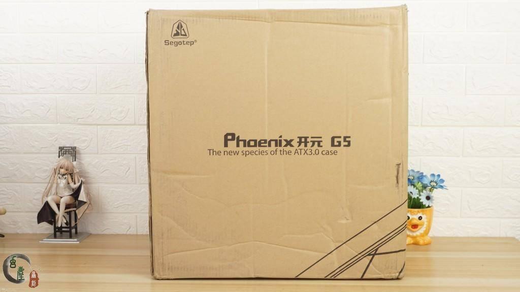 原装在299元的机箱上,还可以享受显卡垂直安装的乐趣。新谷开元G5开箱