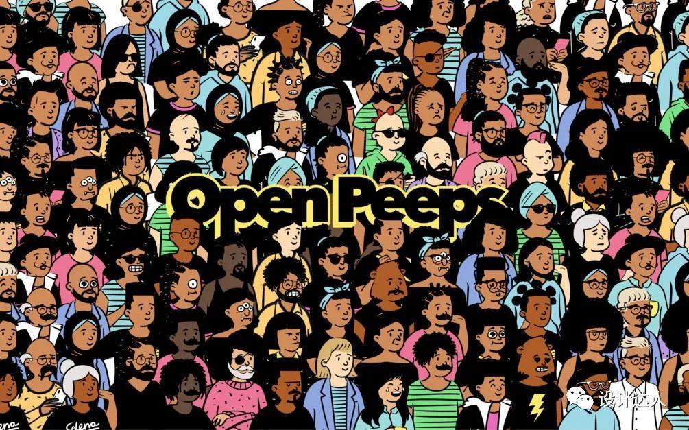 openpeeps 免费涂鸦人物素材库 无版权图 第1张