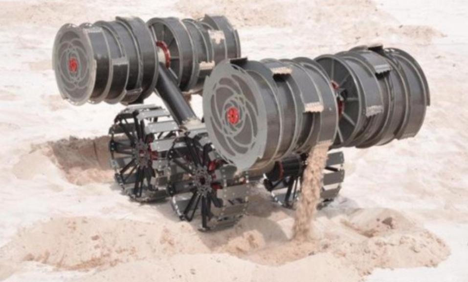 NASA向外界求助:请帮设计月球挖掘机器人重要部分