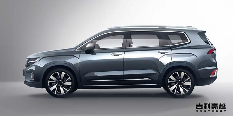 吉利全新中型SUV豪越将3月21日亮相
