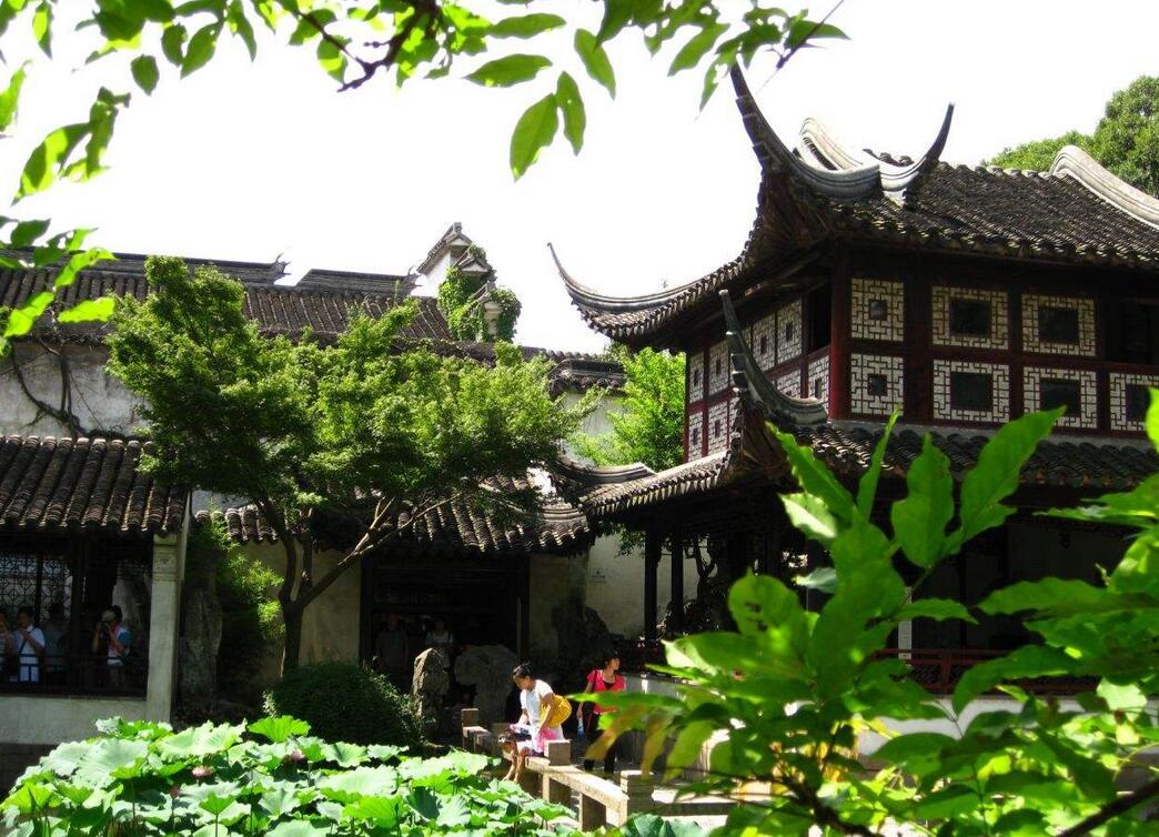 中国四大名园建筑艺术最精湛属留园,吸收了江南园林建筑艺术的精华