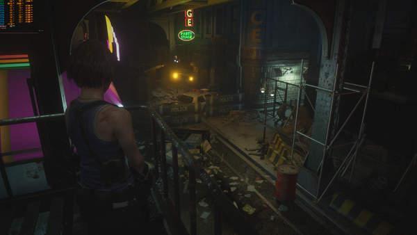 《生化危机3:重制版》Demo精美截图一睹吉尔英姿