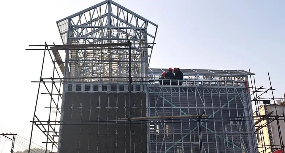 心力集团-通海县者湾村灾后重建项目
