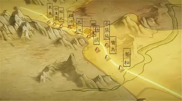 """霍去病攻下4座重镇,汉武帝分别取4个""""霸气""""的名字,至今沿用"""