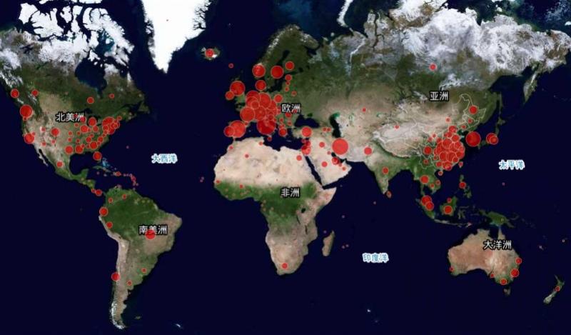 全球新冠肺炎确诊病例破30万,除中国外这6个国家过万