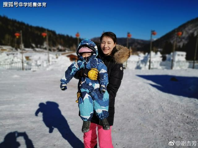 冰雪聪明!林丹儿子已能流利说两种语言,谢杏芳独自一人带娃
