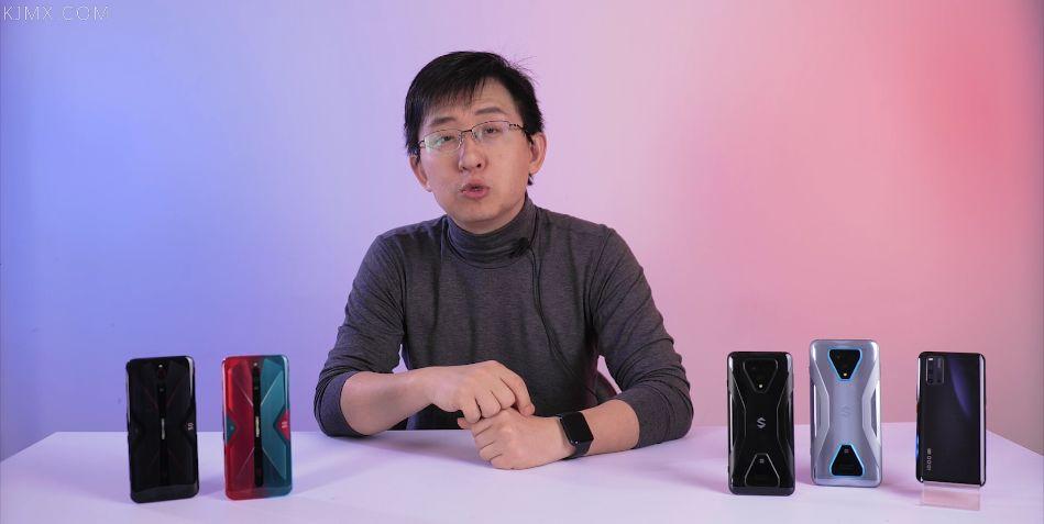 「科技美学」5G游戏手机详细对比测评|iQOO3/黑鲨3/红魔5G|到底谁称得上完美的游戏设备_屏幕