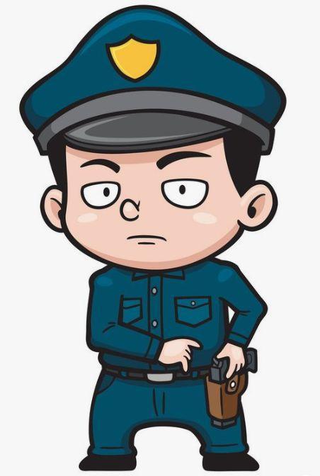超多的警察叔叔简笔画,亲子好帮手,为孩子收藏吧