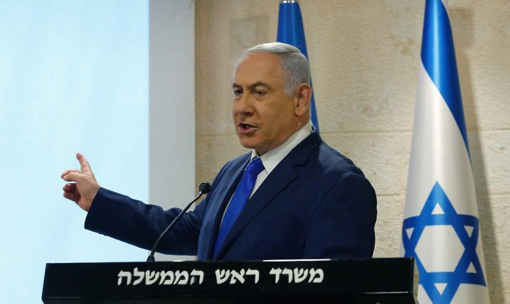 以色列总理内塔尼亚胡表示,将在商定的日期离任,之后由甘茨接任