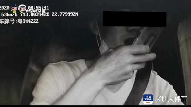 油罐车在广深高速侧翻起火,事发前司机曾玩手机抽烟还嗑瓜子