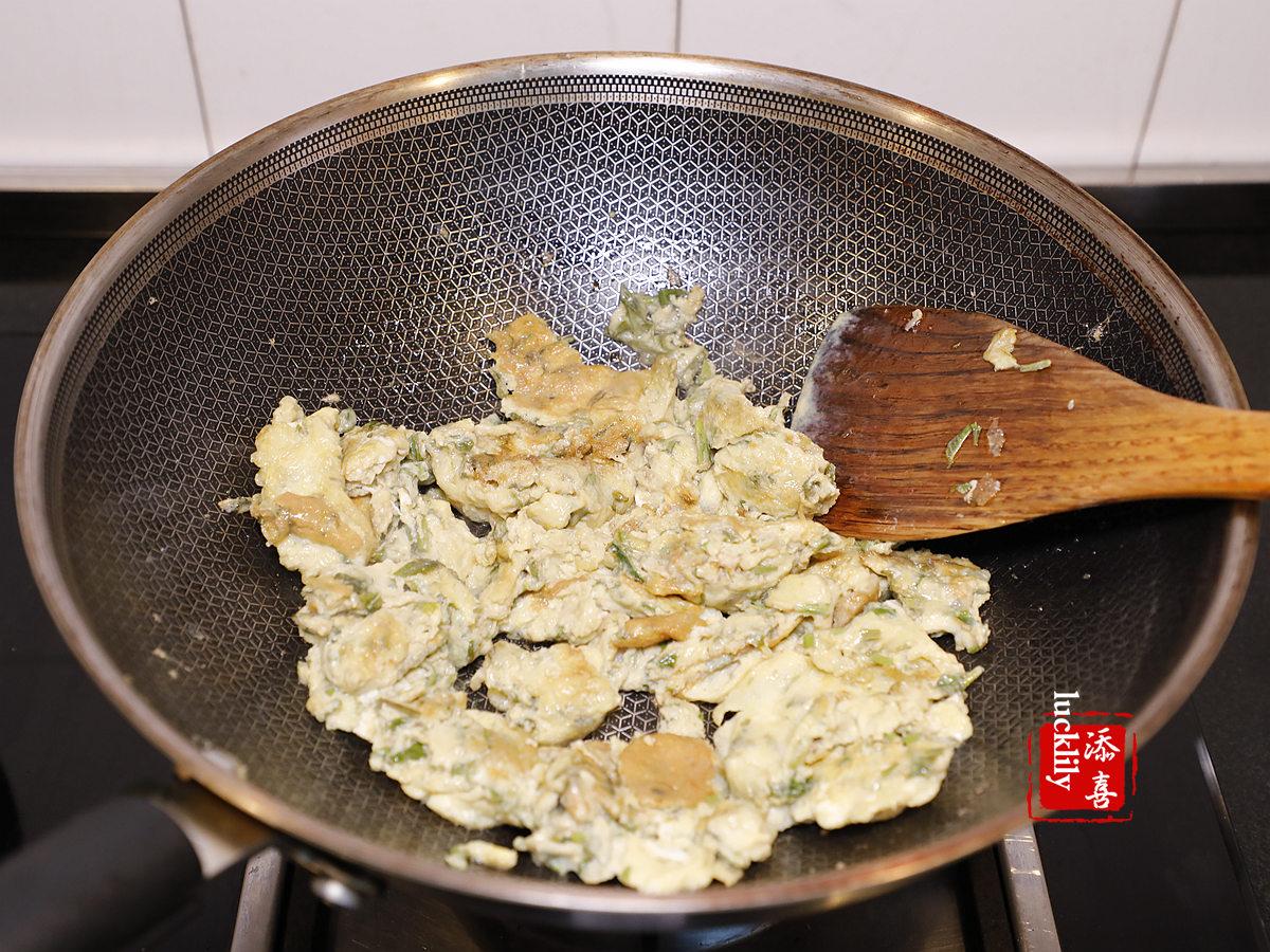 【添喜的厨房】最近千万别错过!用这一种嫩芽来炒蛋,满满都是春天的味道