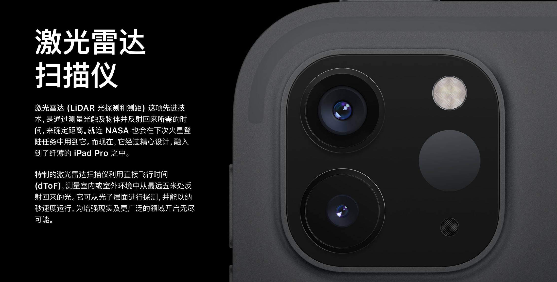 """最强科普:iPad Pro""""激光雷达""""技术,又要吊打友商?"""