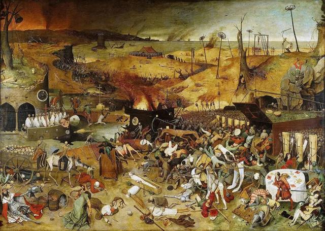 世界名画里的七次人类大瘟疫图片