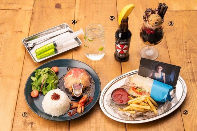 来份吉尔三明治卡普空Cafe《生化3RE》菜单公开_菜品