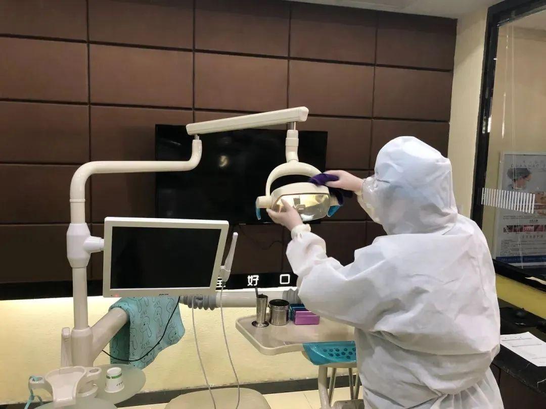 记者实地探访:某口腔诊所复工的运行