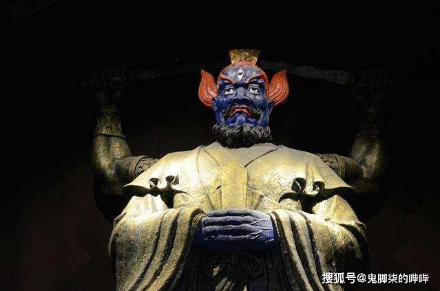 中国神话人物一一五显大帝,你不认识 那你认识马王爷嘛