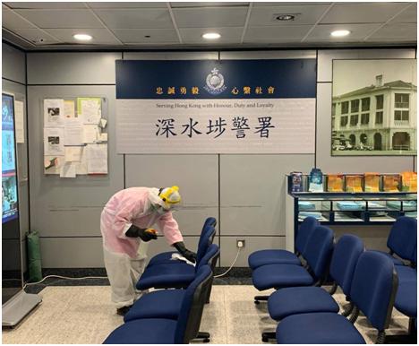 香港一女警员初步确诊新冠肺炎,同队警员将不会被安排与市民接触