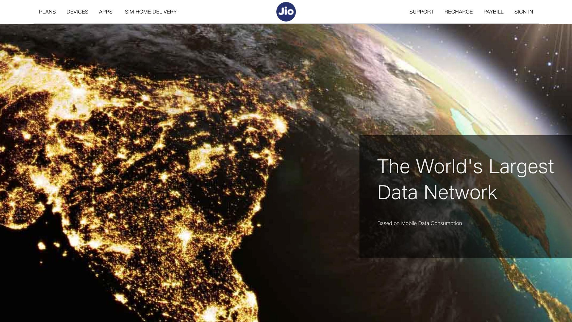 传 Facebook 正寻求收购印度电信运营商 Reliance Jio 部分股份