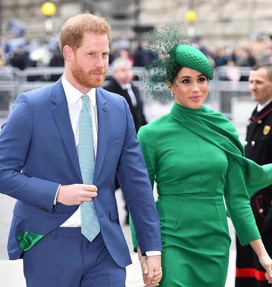 外媒曝梅根禁止哈里王子探望父亲查尔斯王子